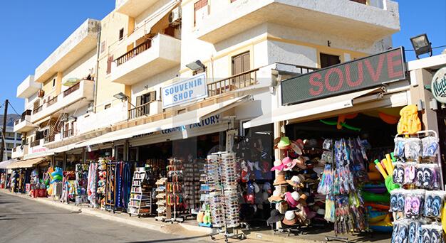 Hersonissos Malia and Balos beach in Crete Keramoti rent a car in Kissamos