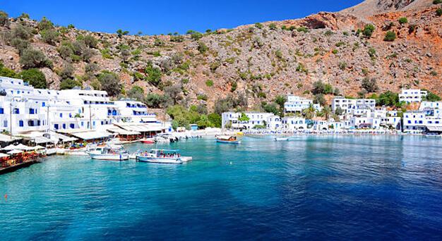 Sfakia in Crete Keramoti rent a car in Kissamos